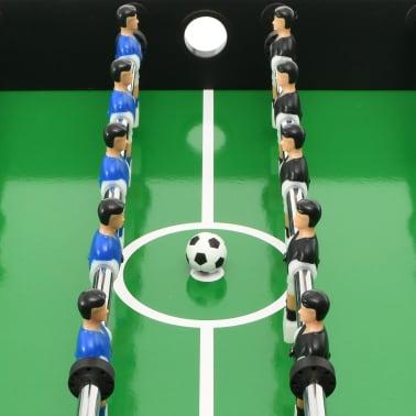 vidaXL Universalus žaidimų stalas, 15-1, juodos spalvos, 121x61x82cm[9/16]