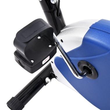 vidaXL Hometrainer met bandweerstand blauw[9/10]