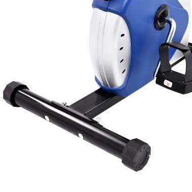 vidaXL Hometrainer met bandweerstand blauw[10/10]