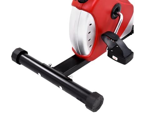 vidaXL Hometrainer met bandweerstand rood[10/10]