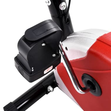vidaXL Hometrainer met bandweerstand rood[9/10]