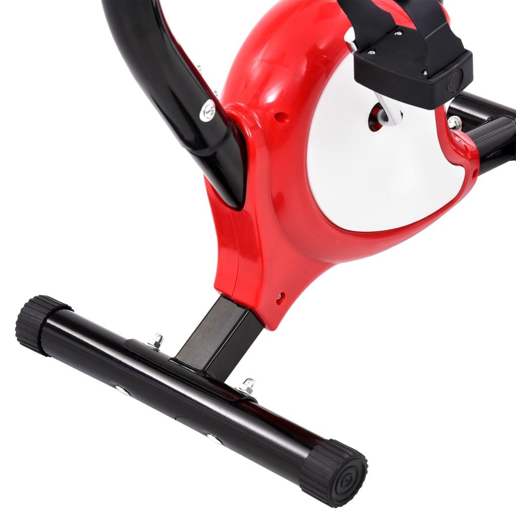 Hometrainer met bandweerstand rood