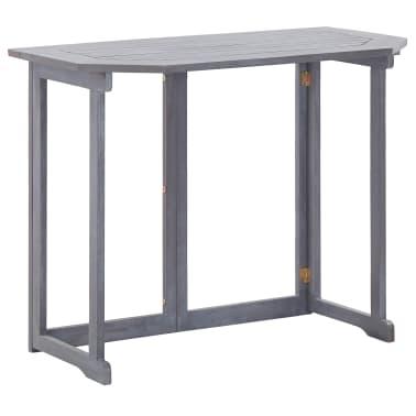 Tavoli Pieghevoli Per Balconi.Vidaxl Tavolo Da Balcone Pieghevole 120x70x74cm In Massello Di