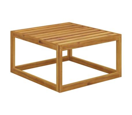 vidaXL 6 Piece Garden Lounge Set with Cushions Solid Acacia Wood[12/12]