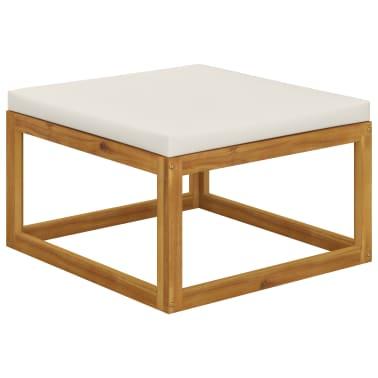 vidaXL 6 Piece Garden Lounge Set with Cushions Solid Acacia Wood[10/12]