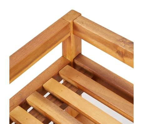 """vidaXL 5-Tier Shoe Rack 25.1""""x10.2""""x31.4"""" Solid Acacia Wood[5/7]"""