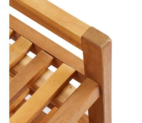 """vidaXL 5-Tier Shoe Rack 25.1""""x10.2""""x31.4"""" Solid Acacia Wood[6/7]"""