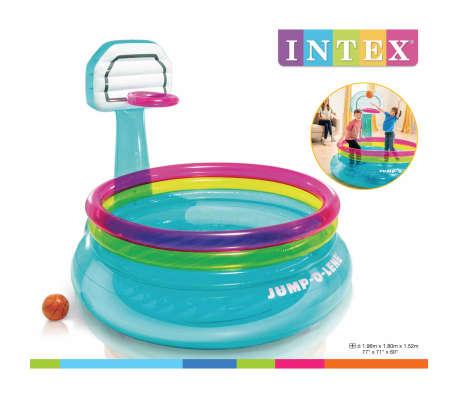 Intex Piscina inflable con canasta Jump O-Lene PVC[3/3]