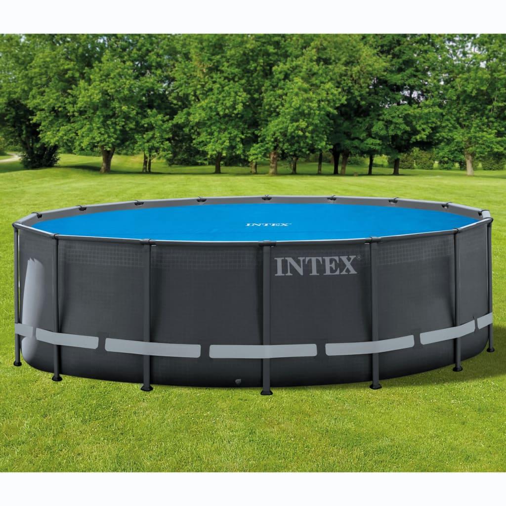 Intex Prelată solară piscină, 488 cm, rotund poza vidaxl.ro