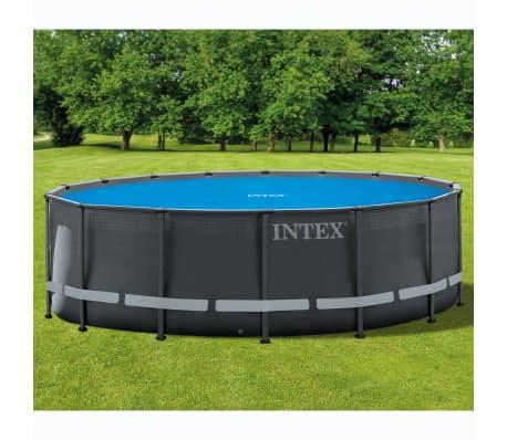 Intex Couverture solaire de piscine ronde 488 cm[1/6]