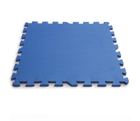 Intex Bâches de sol de piscine 8 pcs 50 x 50 cm Bleu[2/5]