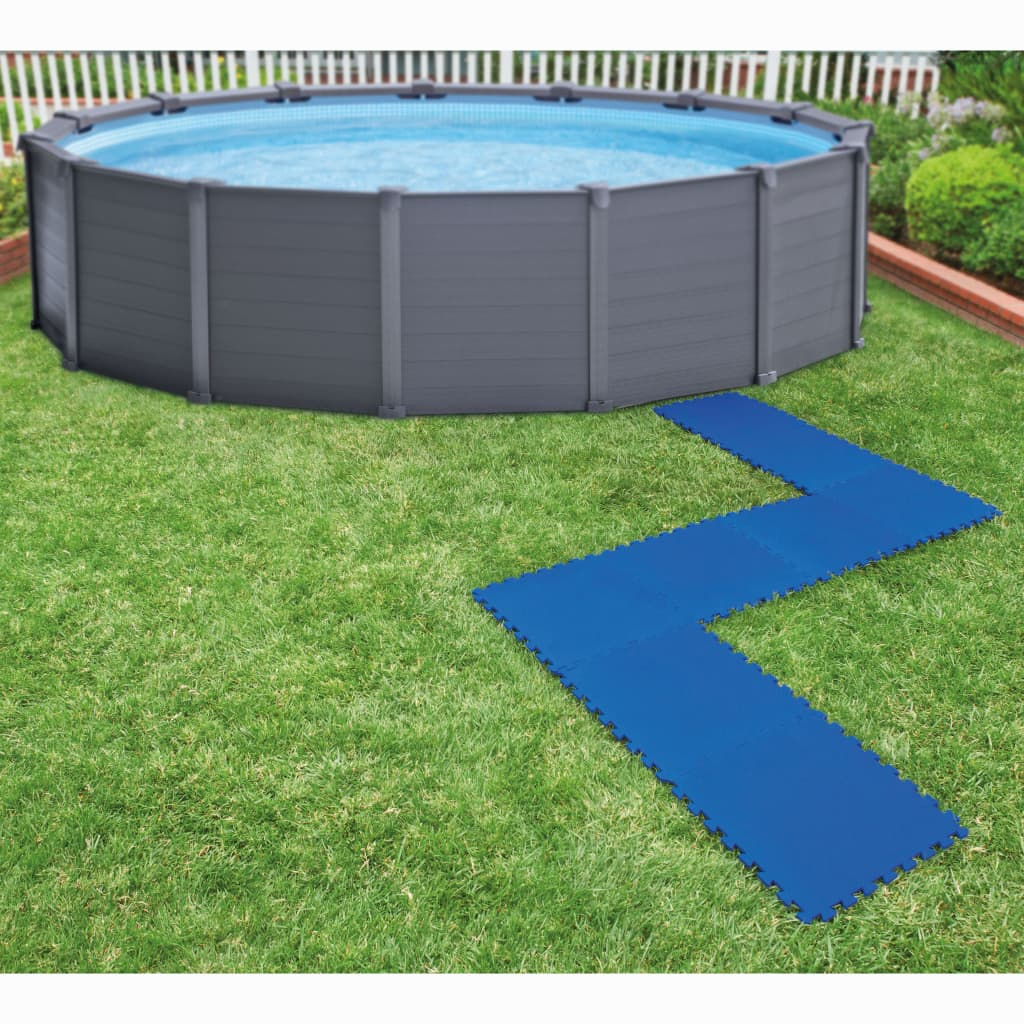 Intex 8 ks Bazénové podlahové chrániče 50 x 50 cm modré