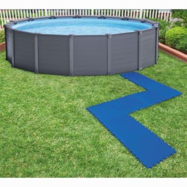 Intex Bâches de sol de piscine 8 pcs 50 x 50 cm Bleu[1/5]