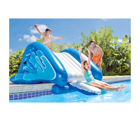Intex Toboggan aquatique gonflable Kool Splash Bleu[2/3]