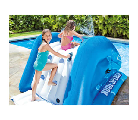 Intex Toboggan aquatique gonflable Kool Splash Bleu[3/3]