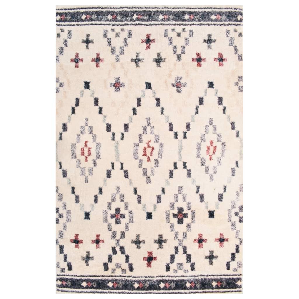 vidaXL gulvtæppe med tryk 80 x 150 cm polyester flerfarvet
