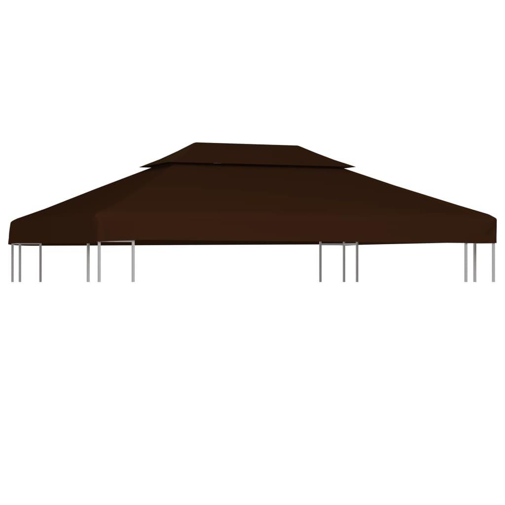 Kahekordne varjualuse katus 310 g/m² 4 x 3 m, pr..