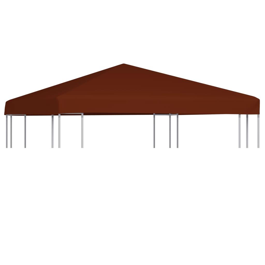 vidaXL Acoperiș pentru pavilion, 3 x 3 m, cărămiziu, 310 g/m² poza 2021 vidaXL