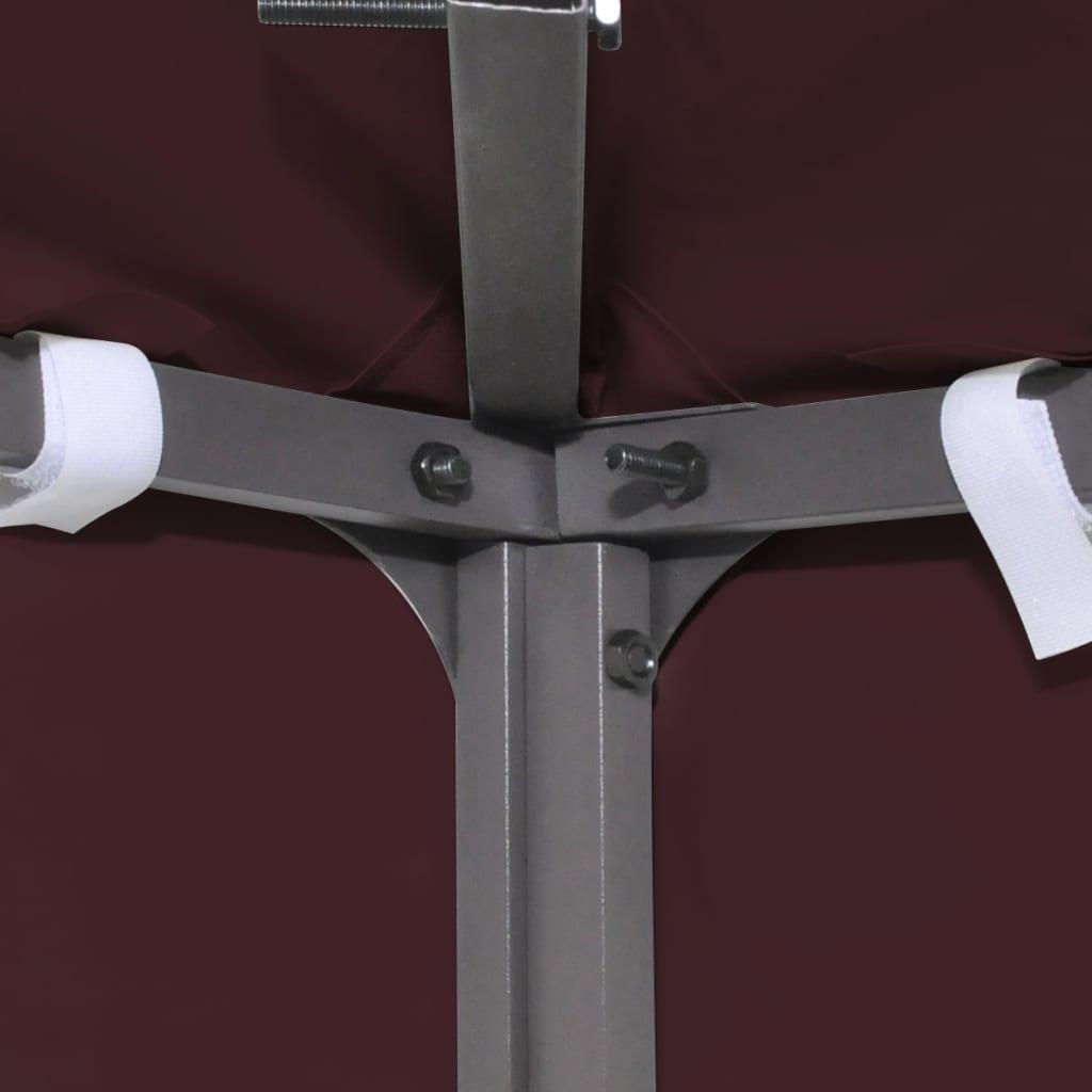 Prieeldak 310 g/m² 3x4 m bordeaux