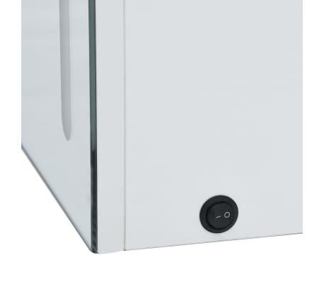 vidaXL Armoire de salle de bain à miroir LED 50x13x70 cm[6/7]