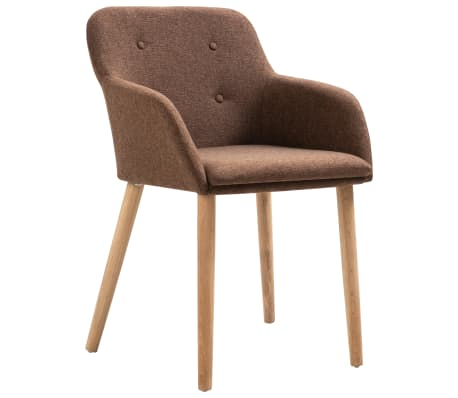 Topped with thick, soft-to-the-touch upholstery, these armchairs are ergonomically designed to offer you comfortable seating experience.