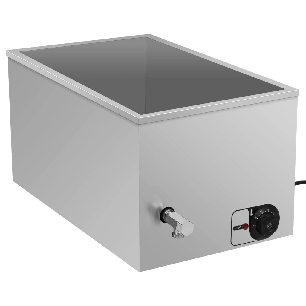 vidaXL Vodní lázeň pro ohřívání jídla nerezová ocel 1 500 W