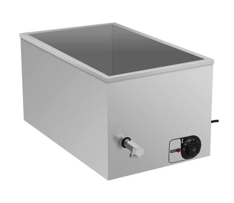vidaXL Chauffe-plat au bain-marie Acier inoxydable 1500 W