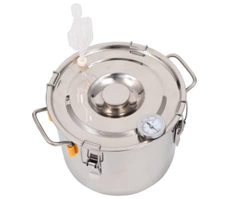 vidaXL Distillateur d'alcool Acier inoxydable 8 L[3/9]