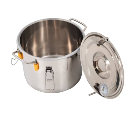 vidaXL Distillateur d'alcool Acier inoxydable 8 L[4/9]