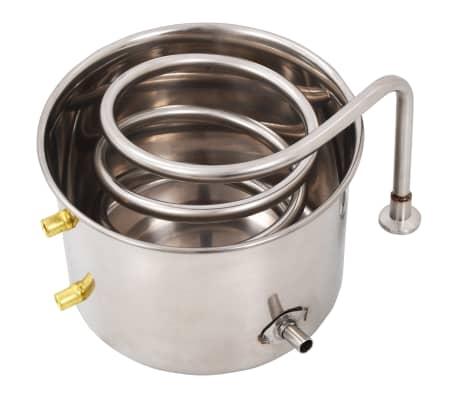vidaXL Distillateur d'alcool Acier inoxydable 8 L[7/9]