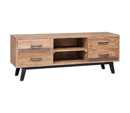 vidaXL Tv-meubel 120x30x45 cm massief teakhout
