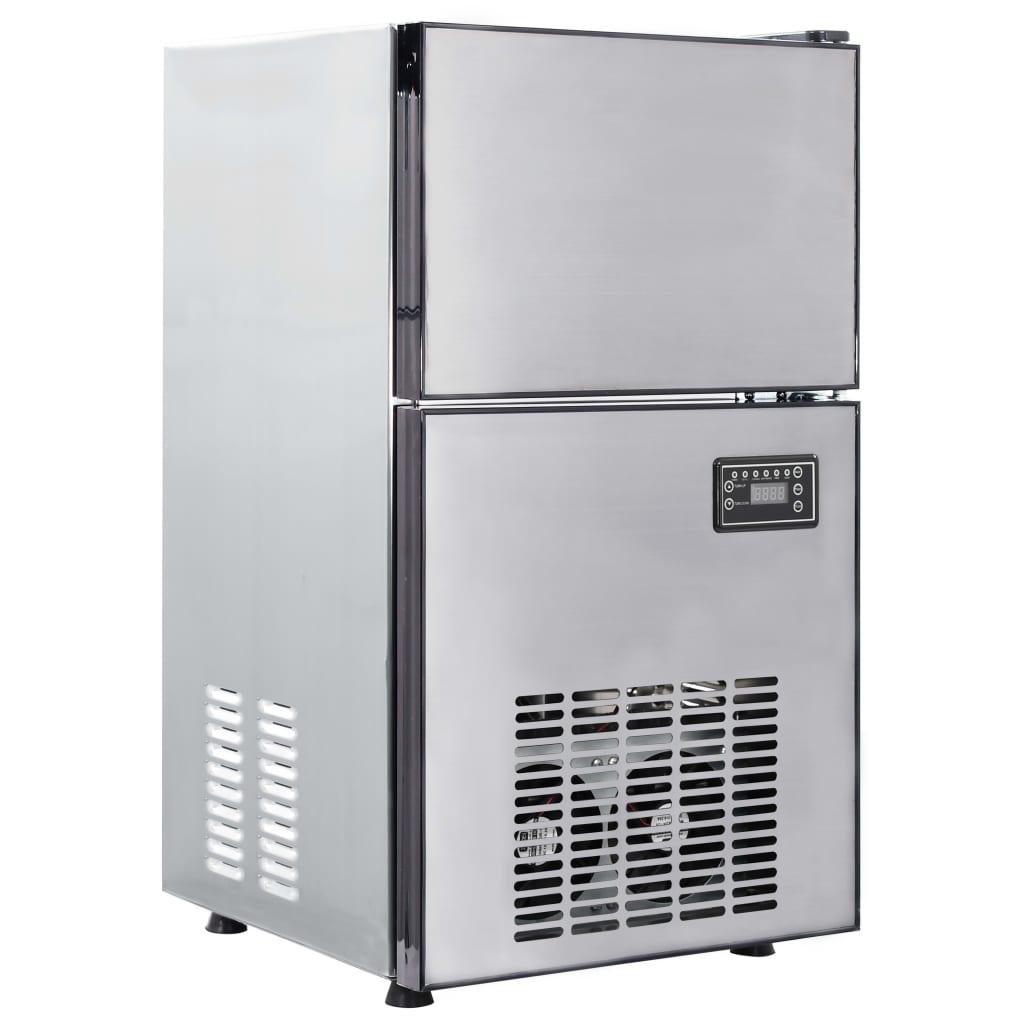 vidaXL Aparat de făcut cuburi de gheață, 420 W, 50 kg / 24 h imagine vidaxl.ro