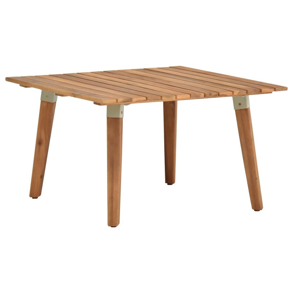 vidaXL Zahradní konferenční stolek 60 x 60 x 36 cm masivní akácie