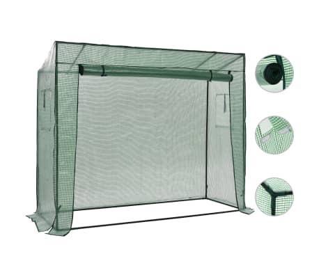 vidaXL Walk-in Greenhouse 200x80x173 cm