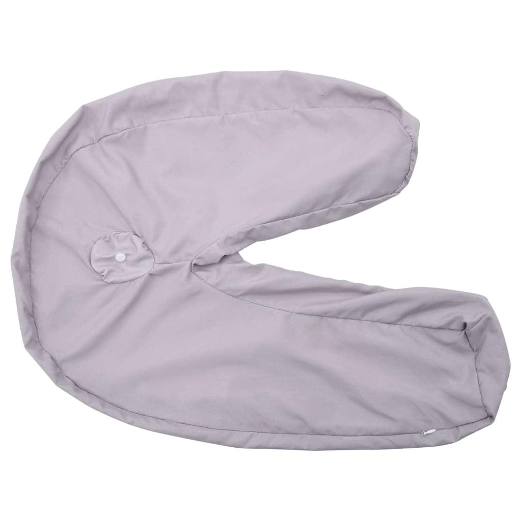 Husă de pernă pentru sarcină în formă de J, 54 x 43 cm