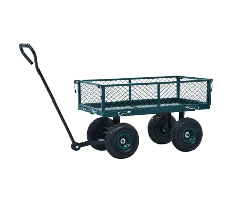 vidaXL Garden Hand Trolley Green 551.2 lbs[4/11]