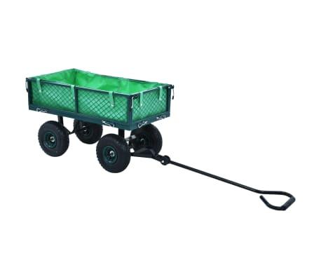 vidaXL Garden Hand Trolley Green 551.2 lbs[6/11]