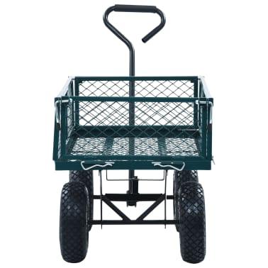 vidaXL Garden Hand Trolley Green 551.2 lbs[5/11]