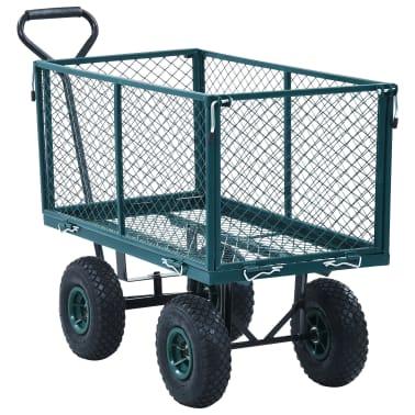 vidaXL Tuinwagen 350 kg groen[2/11]