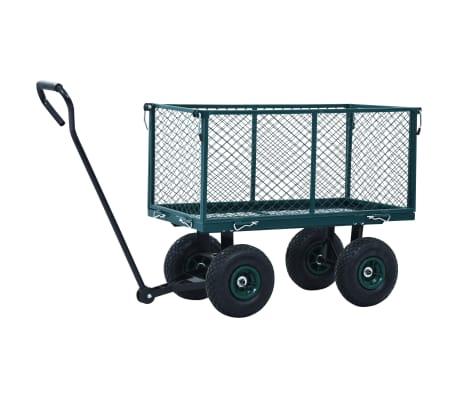 vidaXL Tuinwagen 350 kg groen[5/11]