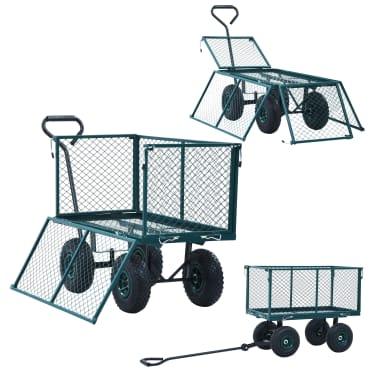 vidaXL Tuinwagen 350 kg groen[7/11]