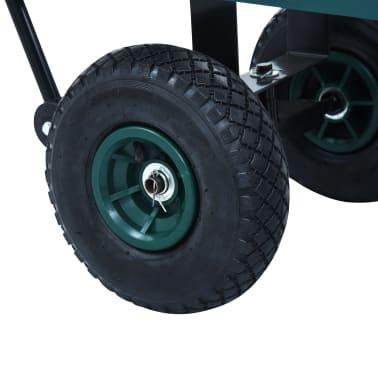 vidaXL Tuinwagen 350 kg groen[8/11]