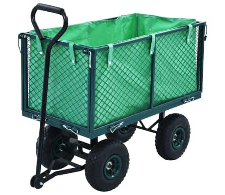 vidaXL Tuinwagen 350 kg groen[1/11]
