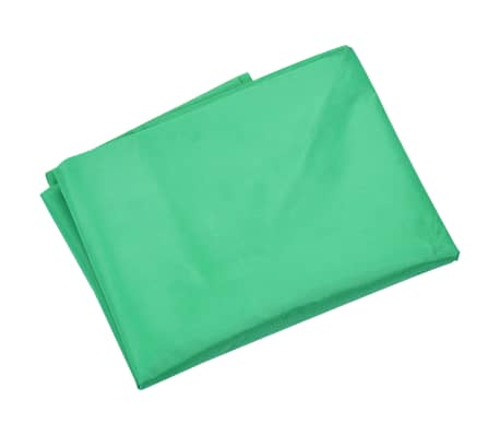 vidaXL Garden Cart Liner Green Fabric