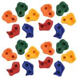 vidaXL 20 pcs Pierres d'escalade Multicolore PE