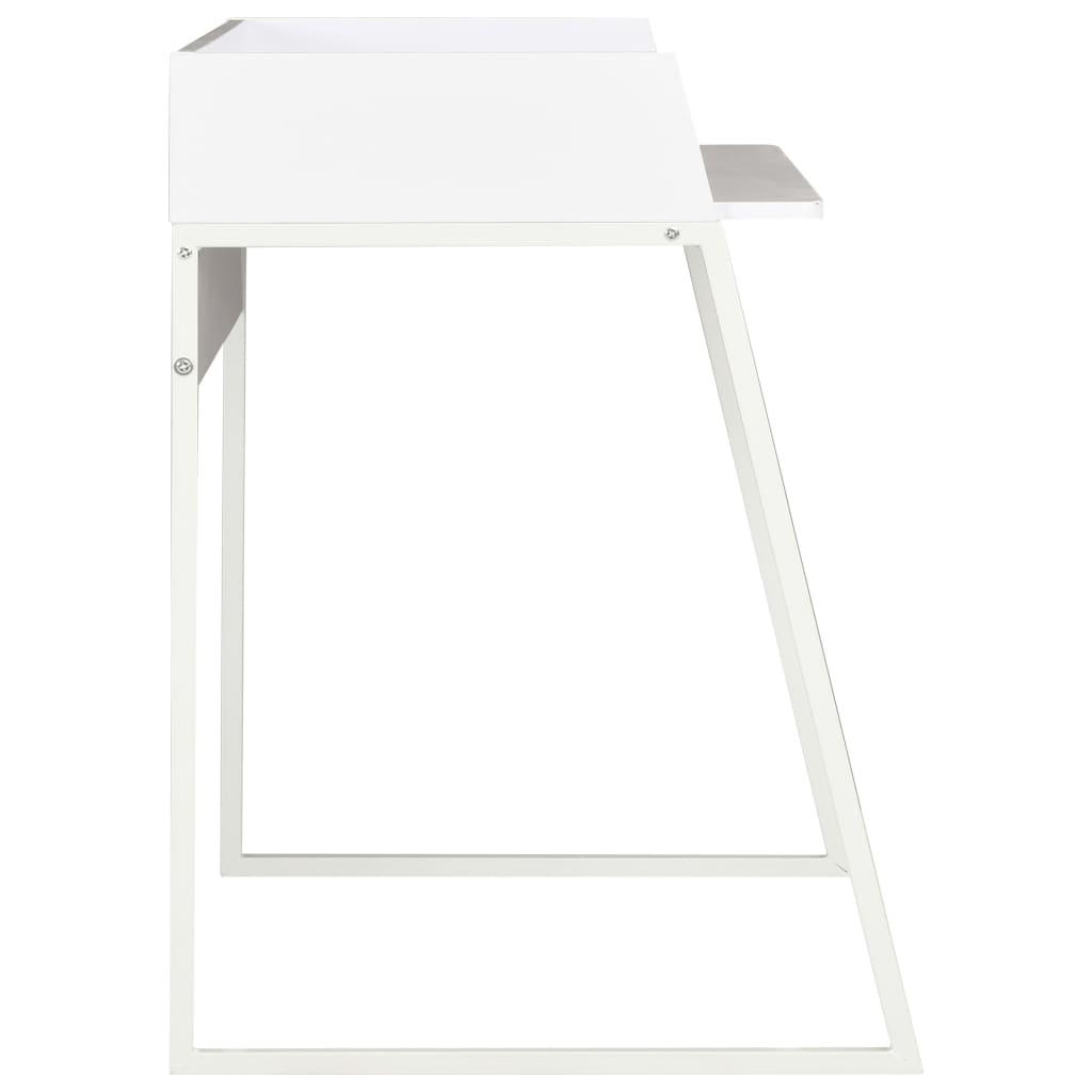 Psací stůl bílý 90 x 60 x 88 cm