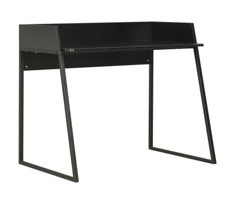 vidaXL Birou, negru, 90 x 60 x 88 cm