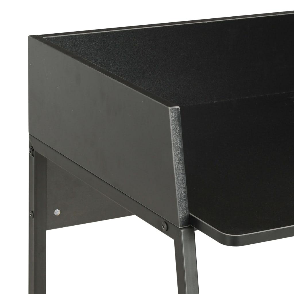 Psací stůl černý 90 x 60 x 88 cm