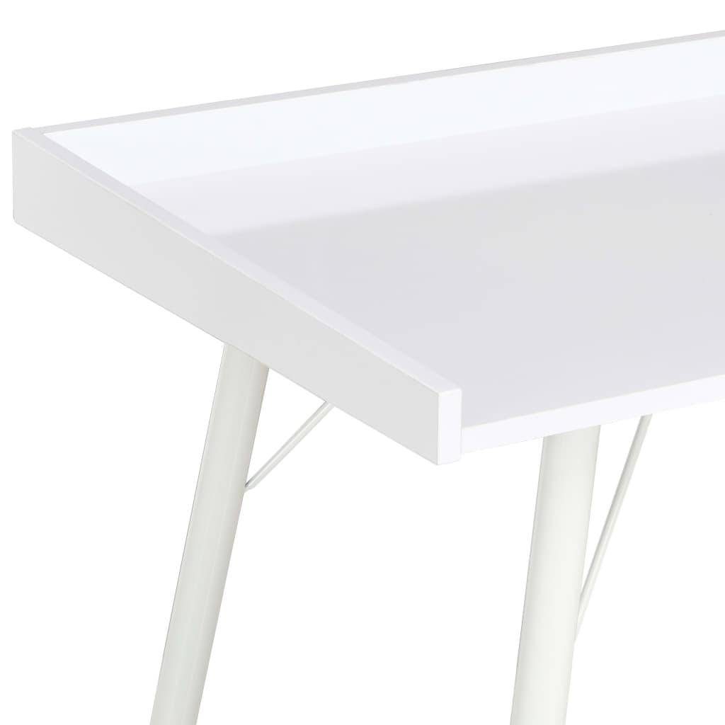 Psací stůl bílý 90 x 50 x 79 cm