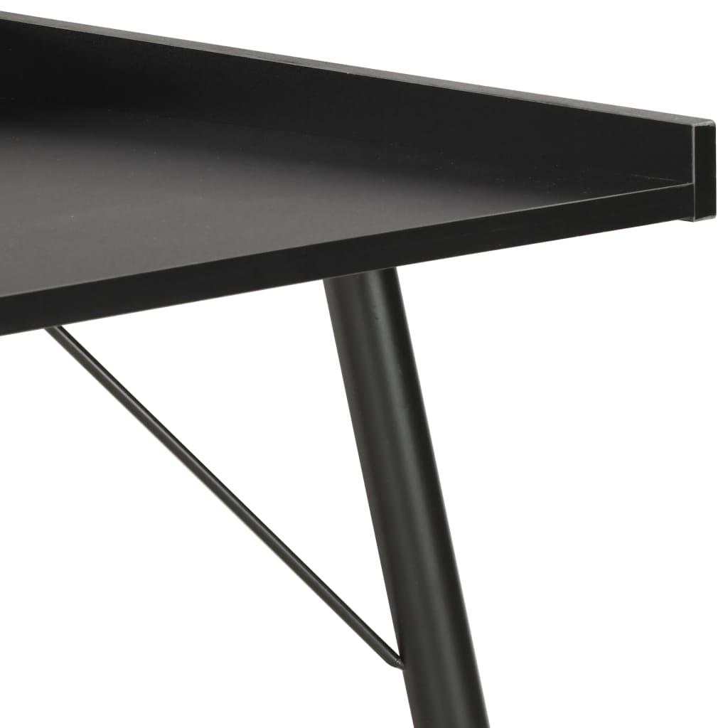 Psací stůl černý 90 x 50 x 79 cm